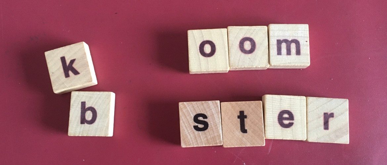 Puzzelen met letters