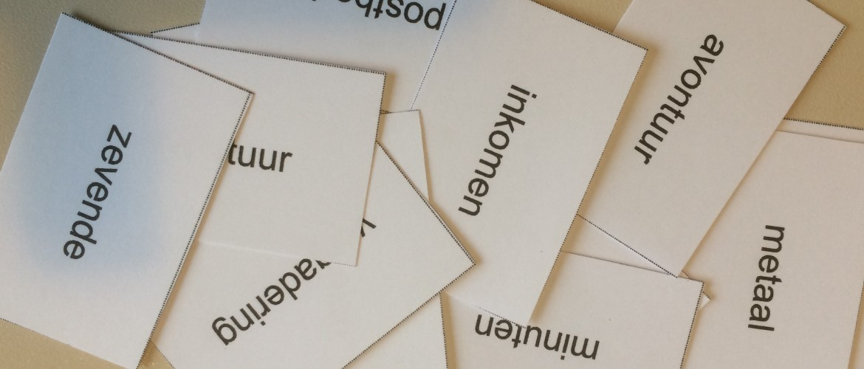 Hoe kom ik aan woordenkaartjes om te oefenen (zonder dat het me uren werk kost)?