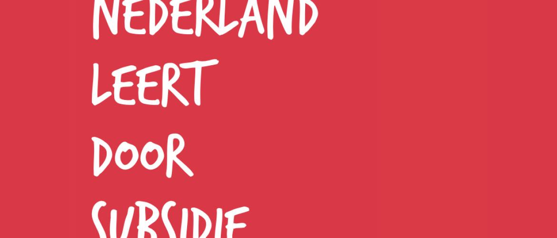 NL Leert Door - gratis zelfonderzoek op kosten van de regering!