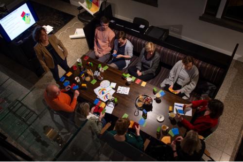 Teamcoaching - het gedoe op tafel