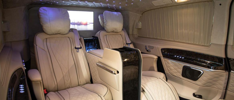 Luxe vervoer met Mercedes V-klasse
