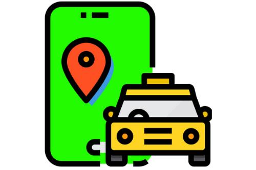 Taxi online bestellen via telefoon en google maps