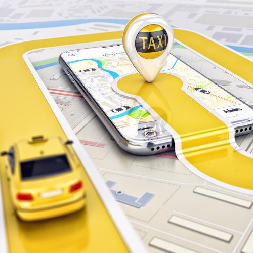 Je taxi en luchthavenvervoer online bestellen met je telefoon