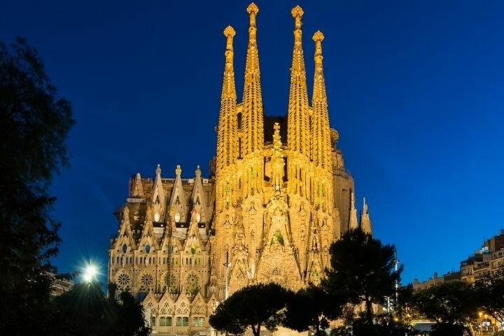 Barcelona - basiliek Sagrada Família