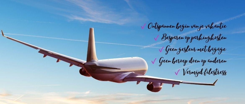 De 6 voordelen van luchthavenvervoer