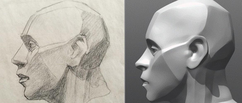 Hoe leer je portret tekenen?