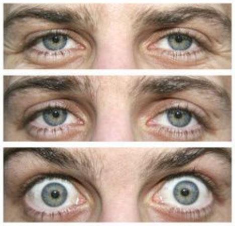 De ogen vertellen veel over de stemming