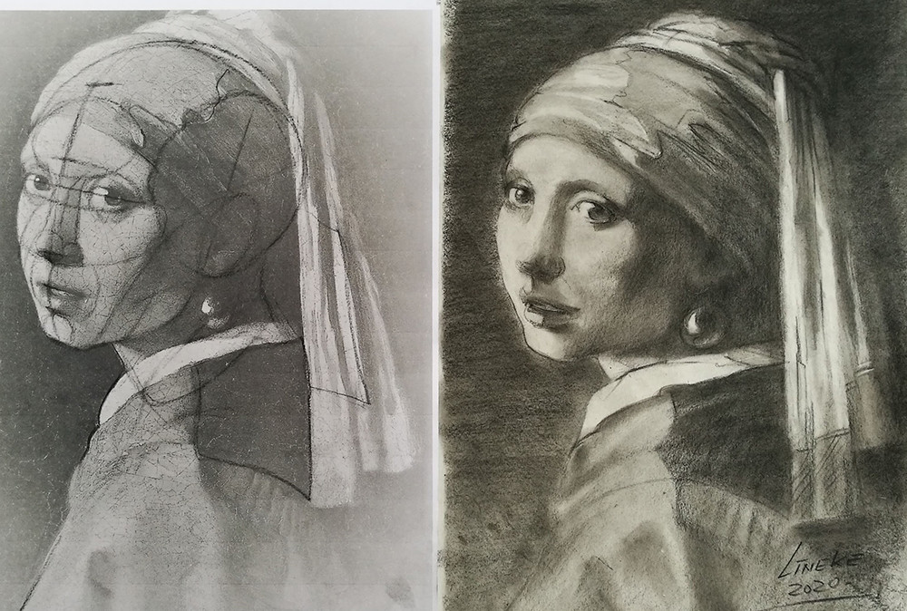Hoe leer je portret tekenen