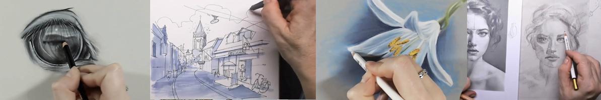 Gratis online tekenlessen