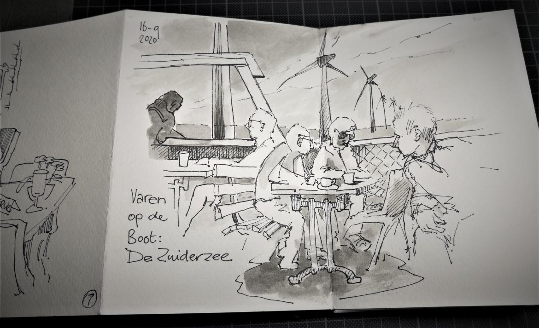 Boottocht over het IJsselmeer vanaf Urk