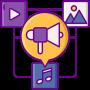 Dynamische content icon