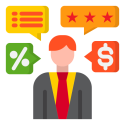 Evaluatie en bijsturing icon