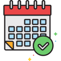 Maandelijkse optimalisatie icon
