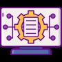 Maandelijkse rapportage icon