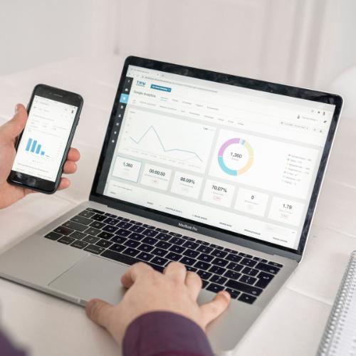 Online marketing dashboard