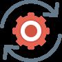 Realtime data icon