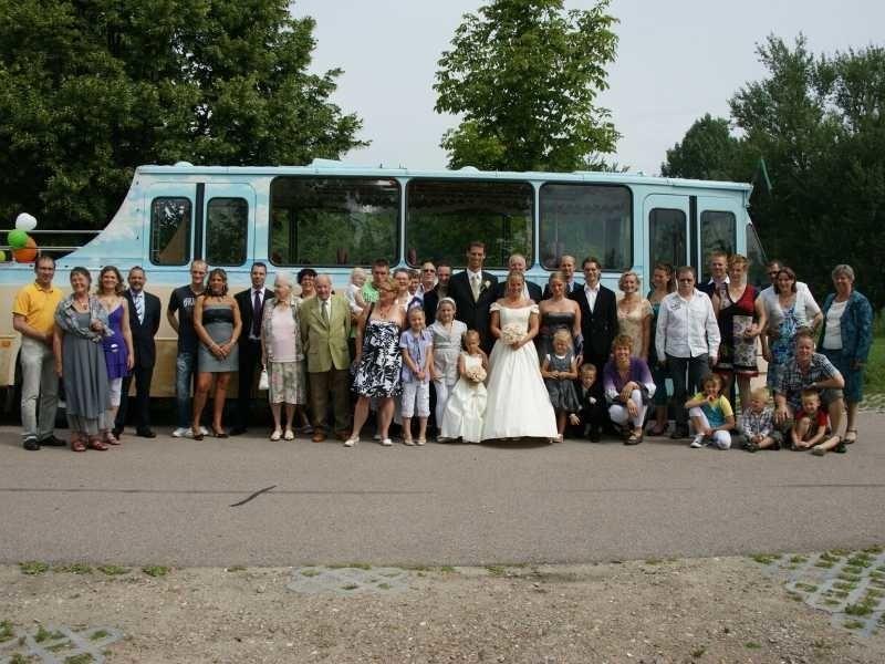 trouwvervoer met de cabrioletbus