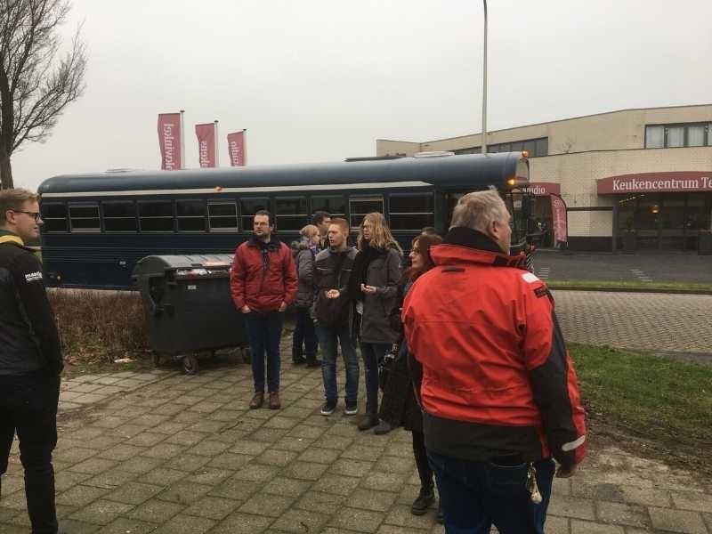 groepsvervoer met de schoolbus