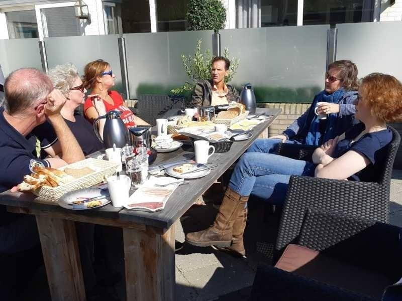 koffietafel lunch bij restaurant bosq op texel