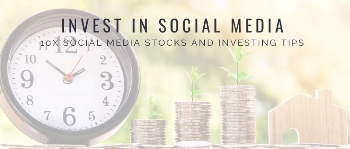 What Social Media Stocks can I Invest in? 10 Options!
