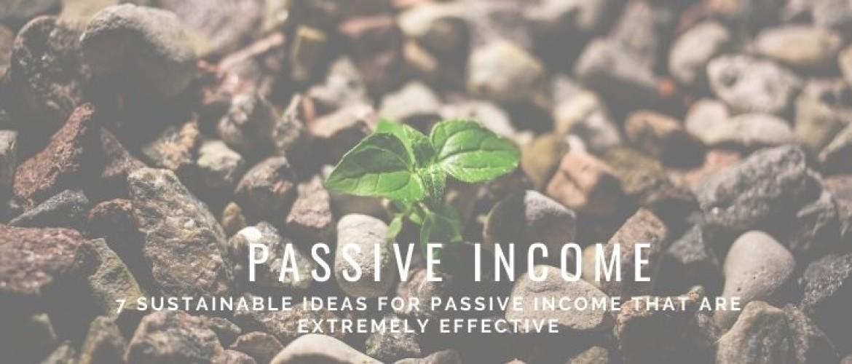 Passive income ideas for more money