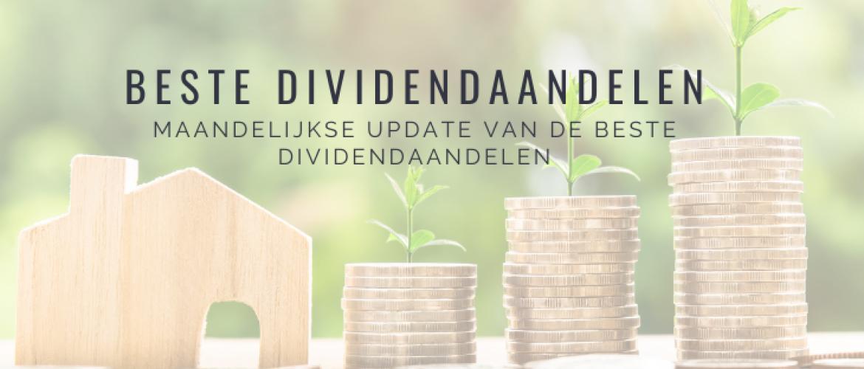 Beste Dividendaandelen Augustus 2021 +10% Dividend
