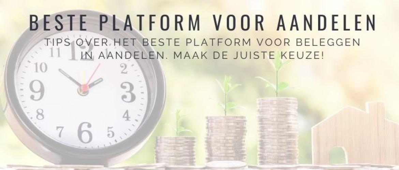 Beste Platform voor Aandelen: Vergelijking Zelf Beleggen