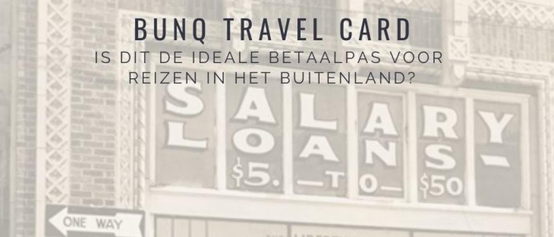 Bunq Travel Card: de beste betaalpas voor reizen in het buitenland?