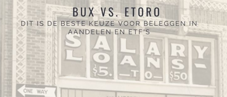 BUX of eToro? De beste keuze voor aandelen & ETFs is…