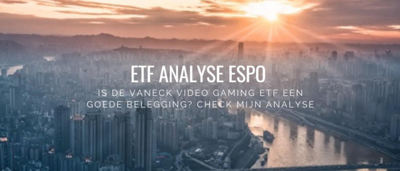 ETF Analyse VanEck Vectors VideoGaming & eSports