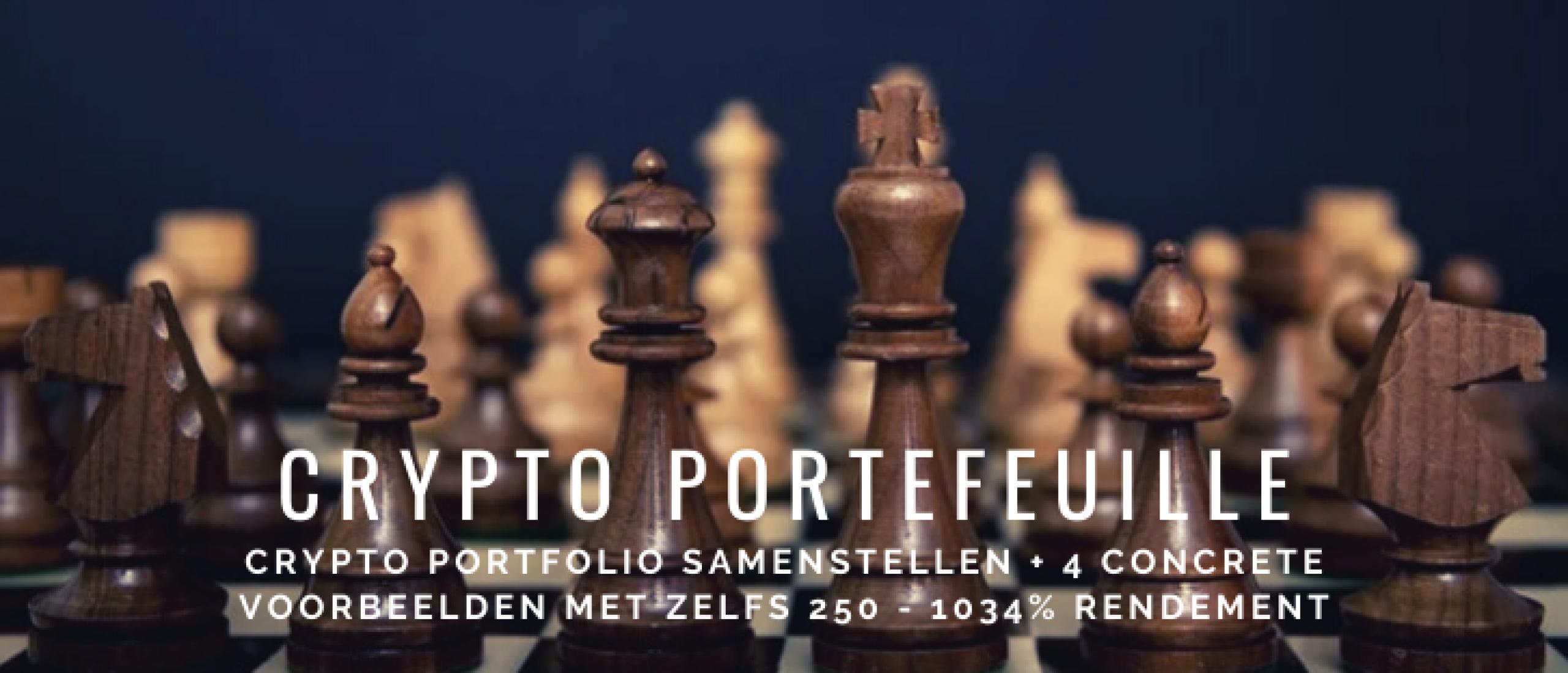 Hoe Crypto Portefeuille Samenstellen? Voorbeelden Altcoins en Bitcoin