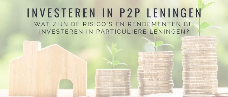 Investeren in Particuliere Leningen: Rendement en Risico's