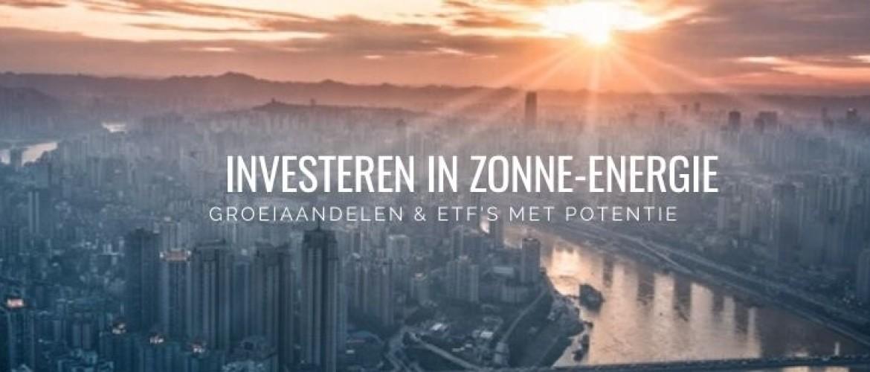 Investeren in Zonne-Energie: dit zijn aandelen met groeipotentie