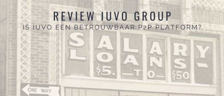 IUVO Review: investeren in particulieren leningen (P2P)