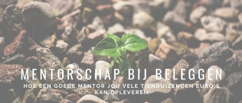 Mentor beleggen? Goed mentorschap geeft je hoger rendement