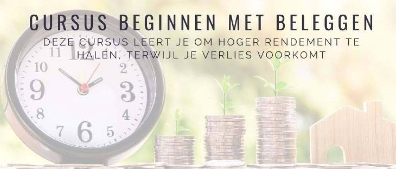 Online cursus beginnen met beleggen: zo word je rijker
