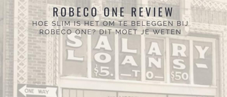 Robeco One Review & Vergelijking: slimme belegging? Dit moet je weten