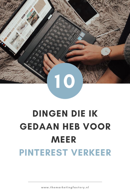 Pinterest is een hele krachtige tool om meer klanten aan te trekken. Tegenwoordig is het voor mij een belangrijk online marketing kanaal. Dat is niet altijd zo geweest. Hiervoor heb ik 10 dingen veranderd in mijn Pinterest marketing strategie. Bekijk hier wat ik veranderd heb en 10 handige Pinterest marketing tips
