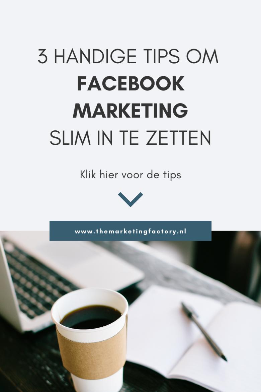 Wil je serieus aan de slag met Facebook marketing? Bekijk dan deze handige Facebook marketing tips voor je business. Je hebt heel wat social media kanalen die je kunt inzetten voor je online marketing. Facebook is nog steeds een hele krachtige online tool die je veel klanten en online verkopen kan opleveren