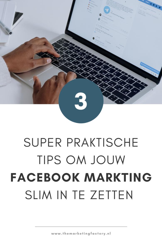 Serieus aan de slag met Facebook marketing als ondernemer of blogger? Check deze 3 praktische Facebook marketing tips. Je hebt veel social media kanalen die je kunt inzetten voor je online zichtbaarheid en om klanten te werven. Facebook is nog steeds een krachtig social media platform. Lees hier de Facebook tips