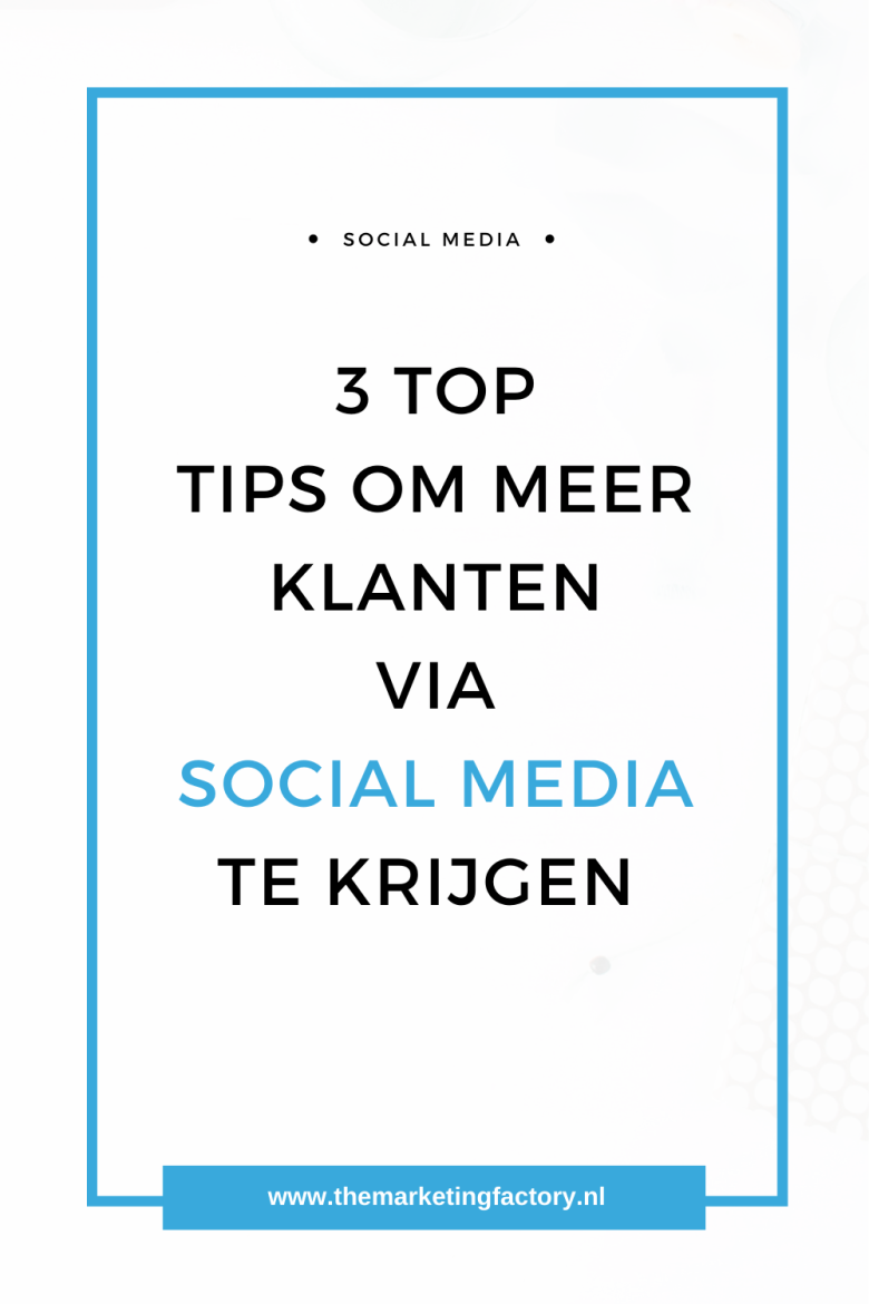 3 Geheimen van social media succes. Bekijk deze 3 praktische tips voor meer klanten via social media die je direct kunt toepassen | social media strategie | social media strategy | sociale media tips | social media tips | online marketing strategie | online verkopen | sociale media tips | gratis social media training | sociale media training | online ondernemen | online zichtbaarheid | content marketing | blog tips