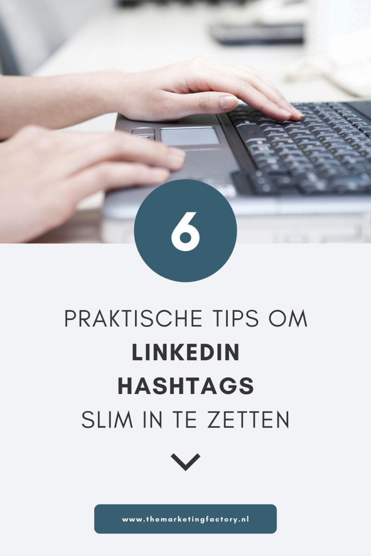 Bekijk deze praktische tips hoe je hashtags op Linkedin slim inzet zodat je de juiste Linkedin posts kunt vinden én ook om je eigen content op Linkedin beter vindbaar te maken. Je krijgt dus meer online zichtbaarheid. Ook door mensen buiten je eigen netwerk! Klanten kunnen namelijk content vinden door te zoeken op bepaalde hashtags