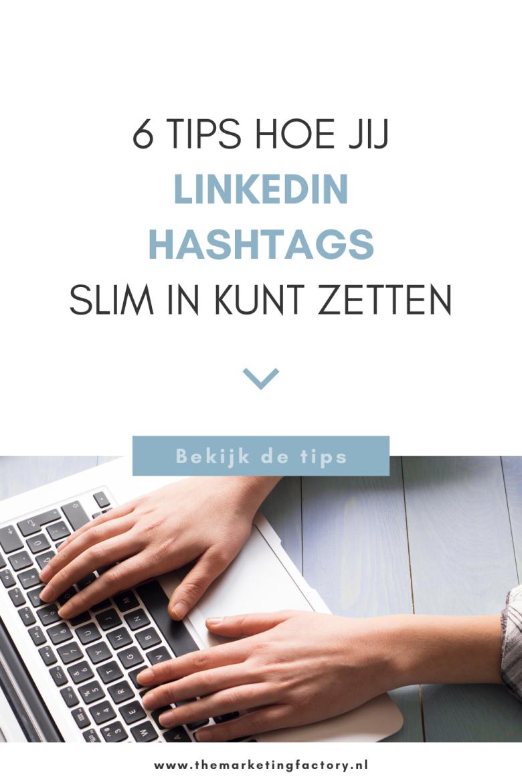 Check deze tips om Linkedin hashtags slim in te zetten voor je marketing. Door hashtags te gebruiken, worden je Linkedin posts beter gevonden. Klanten kunnen namelijk content vinden door te zoeken op bepaalde hashtags. Ook door mensen buiten je eigen netwerk! Je krijgt dus meer online zichtbaarheid door hashtags op Linkedin te gebruiken