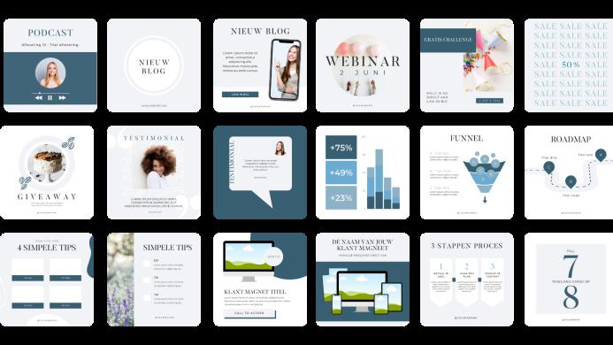 650 social media templates