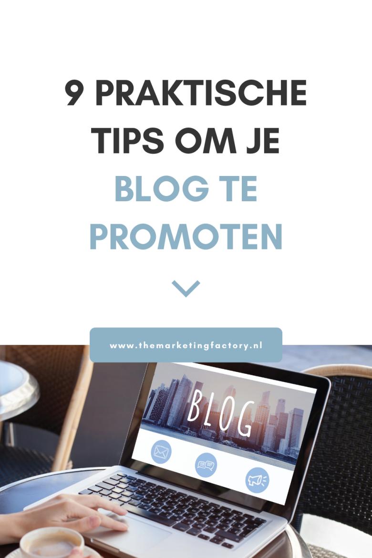 Je hebt een prachtige blog geschreven vol waardevolle informatie. Kun je nu achterover leunen en komen de lezers vanzelf? Helaas niet, hoe interessant of inspirerend je content ook is. Mensen vinden je blog niet vanzelf. Je zult de wereld kenbaar moeten maken dat je content gemaakt hebt. Dus hoe kun je jouw blog promoten? Bekijk hier 9 tips om je blog te promoten