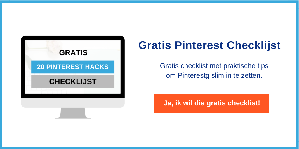 Gratis Pinterest Checklijst