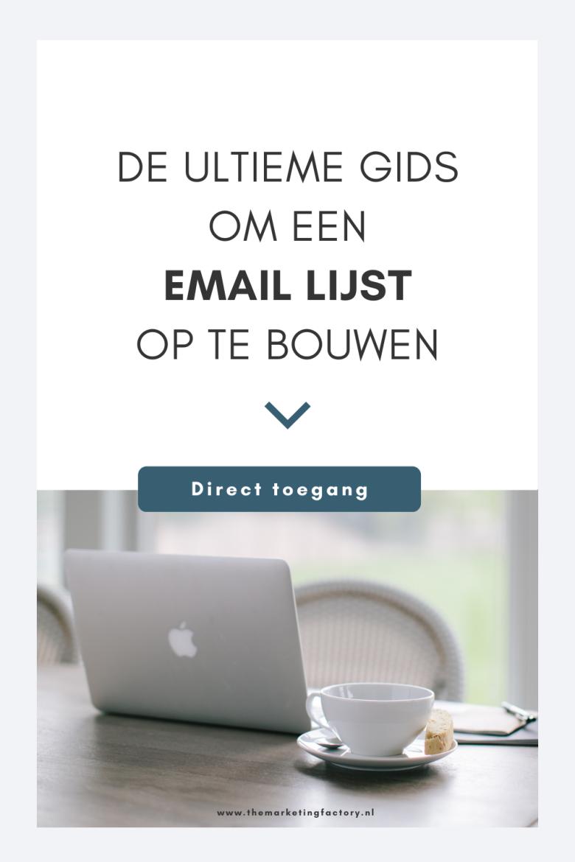 Wil jij een email lijst opbouwen? Bekijk hier een handig overzicht met email marketing tips en email marketing tools om je lijst op te bouwen. Dit is belangrijk want via email marketing kun je in contact blijven met klanten en is het makkelijker om online verkopen te realiseren