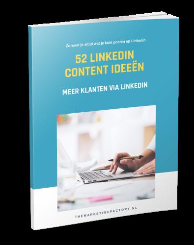Ebook 52 Linkedin Content ideeen