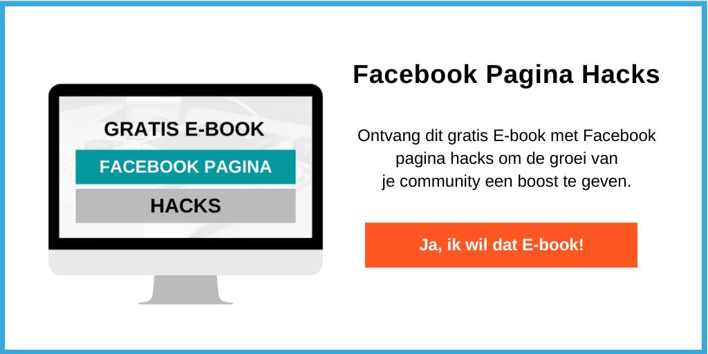 facebook bedrijfspagina tips