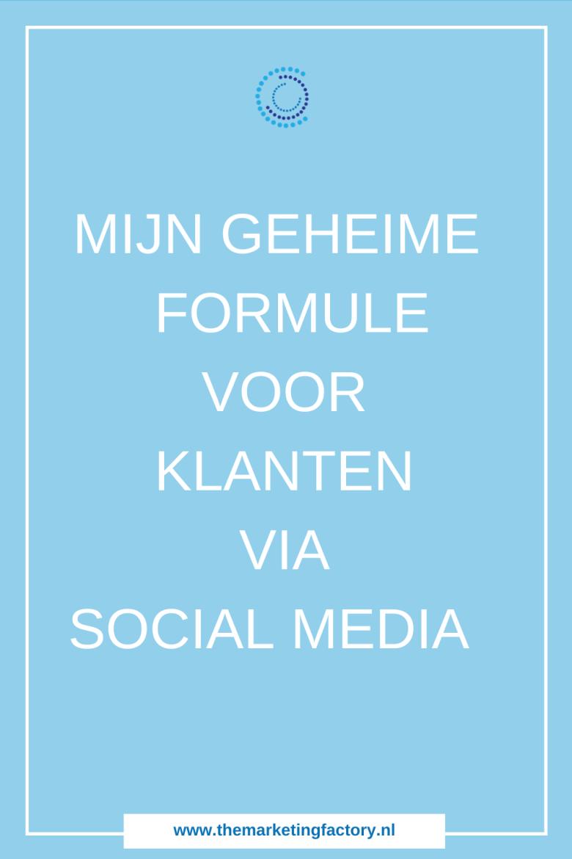 Simpele formule om onweerstaanbare social media berichten te delen die meer klanten via social media opleveren. Ontdek mijn 3 geheimen van een goede social media post | social media post | social media post ideas | Handige tips voor meer online zichtbaarheid, klanten en online verkopen via social media | social media strategy | social media marketing strategie | social media plan | social media tips | online marketing strategie | online geld verdienen | social media training | social media strategie | sociale media tips | #themarketingfactory